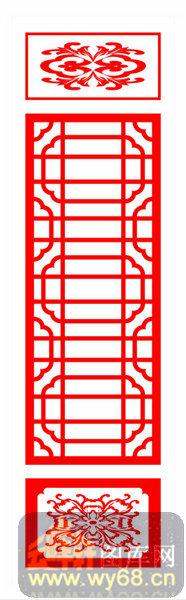 中式镂空装饰001-古典-中式镂空装饰001-061-隔断墙