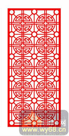 中式镂空装饰003-寿字纹-中式1-087-花纹