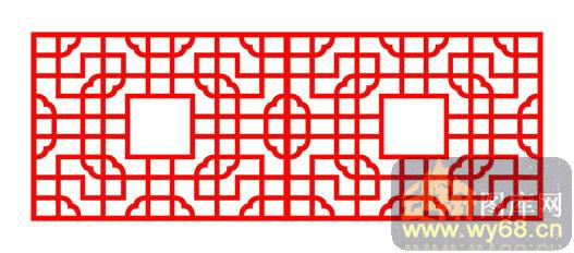 中式镂空装饰003-传统窗棂-中式1-178-镂空雕刻