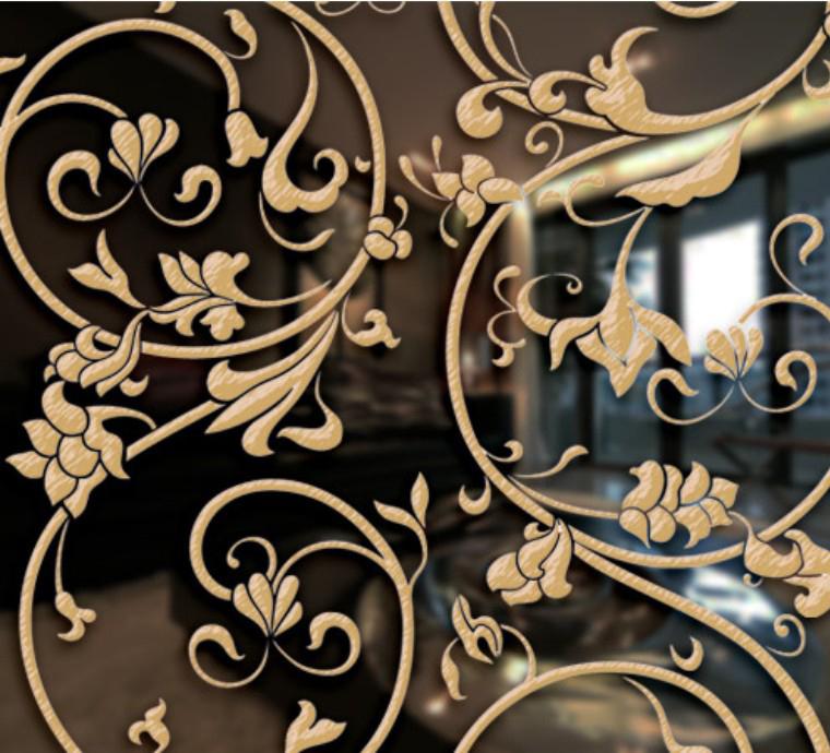欧式雕刻玻璃图