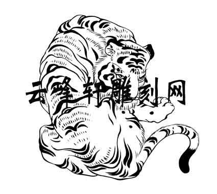 虎2-矢量图-生龙活虎-39-路径矢量图