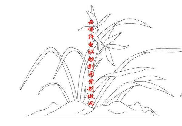 竹简笔画手绘