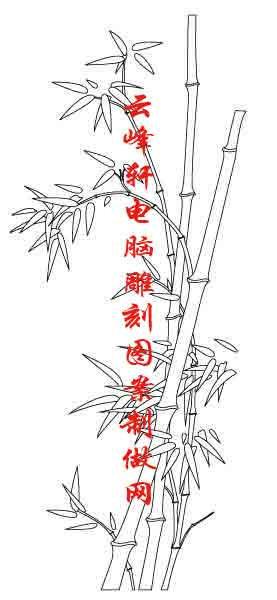 梅兰竹菊-矢量图-兰花-mlxj140-梅兰竹菊刻绘图