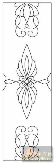 洋花9-路径图,矢量图,云峰轩雕刻图库网