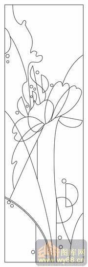 花藤-路径图,矢量图,云峰轩雕刻图库网