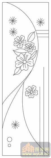 幼儿简笔画树木花