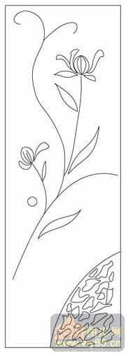 首页 雕刻矢量图路径图案系列 门雕刻矢量图        上一页:星月兰花