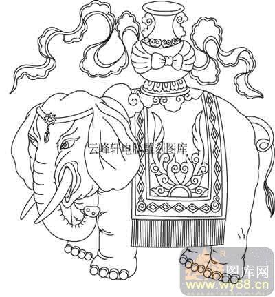 100个中国传统吉祥图-矢量图-吉祥平安-b-025-路径图