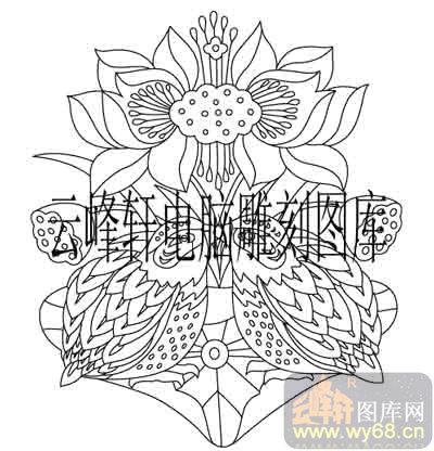 首页 雕刻矢量图路径图案系列 中国传统吉祥图案,矢量图,路径图案