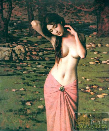 天下移门大全 美女艺术裸画 txc482