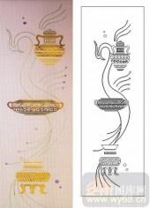 07精雕冰凌系列样图-陶罐-00022-艺术玻璃