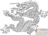 龙-白描图-矫若游龙-long43-龙图片