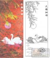 05肌理雕刻系列样图-天鹅细语-00084-艺术玻璃图库
