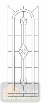 装饰玻璃-12镶嵌-艺术花纹-00052