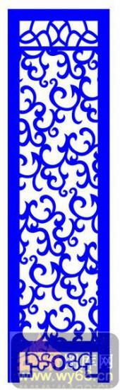 屏风001-花藤-屏风1-007-密度板镂空隔断欧式花型