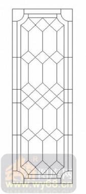 艺术玻璃图-12镶嵌-艺术线条-00067