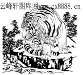 虎第四版-矢量图-龙腾虎踞-12-电子版虎