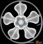 圆盘雕图灰度图-023-艺术图案-016-圆盘雕图浮雕图库