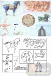 喷砂玻璃-肌理雕刻系列1-东方神韵-00147
