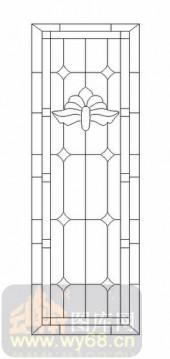 艺术玻璃-12镶嵌-艺术花纹-00045