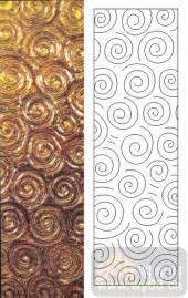 05肌理雕刻系列样图-漩涡线-00118-装饰玻璃