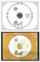 2011设计艺术玻璃刻绘-文星034-喷砂玻璃图库