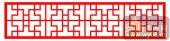 中式镂空装饰001-简单-中式镂空装饰001-015-镂空花纹矢量图