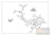 04花草禽鸟-开花结果-00080-喷砂玻璃图库