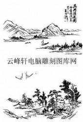 09年3月1日第一版画山水-矢量图-山水相连-33-山水全图