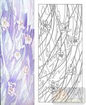 05肌理雕刻系列样图-花卉-00031-装饰玻璃