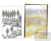 2011设计艺术玻璃刻绘-花2-艺术玻璃