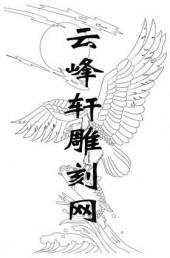 路径鹰-矢量图-雄鹰捕食-aaacc-鹰雕刻图