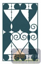 欧式镂空装饰001-文艺复兴-欧式镂空装饰001-050-镂空雕花矢量图