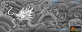01-蟠龙-028-龙凤浮雕灰度图