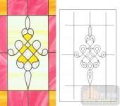 06欧式装饰系列样图-花纹-00004-玻璃门