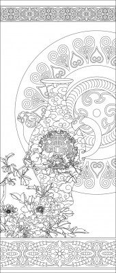 竖板67,花瓶