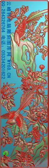 梅兰竹菊顶箱柜全套图Q01