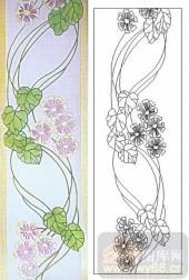 05肌理雕刻系列样图-花藤-00184-喷砂玻璃图库
