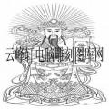 中国传统神话人物仙人-白描图-财神2-中国传统神话人物仙人线描图