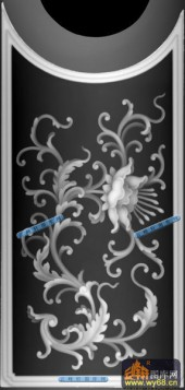 宝座004-花蕊-002-宝座灰度图案