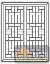 镂空装饰组合式-窗格-镂空装饰组合式-018-玄关隔断