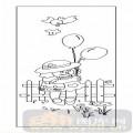装饰玻璃-02卡通-小孩气球-00021