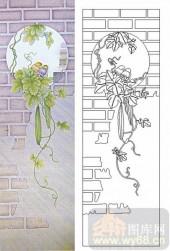 05肌理雕刻系列样图-丝瓜-00186-玻璃雕刻