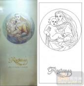 05肌理雕刻系列样图-圣母圣子-00154-雕刻玻璃