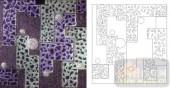 玻璃雕刻-肌理雕刻系列1-深色方块-00085