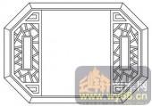 镂空装饰组合式-古朴窗棂-镂空装饰组合式-025-镂空雕花板