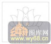 镂空装饰单式002-莲花-镂空装饰单式002-053-隔断墙效果图