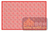镂空装饰单式001-如花似锦-镂空装饰单式001-003-镂空矢量图