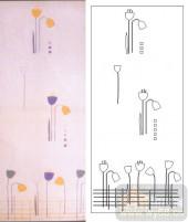 05肌理雕刻系列样图-卡通花卉-00202-喷砂玻璃