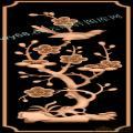 梅花鸟-花鸟精雕图案